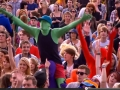 Here's Stephen at Reading Music Festival- he's the one in green!!!