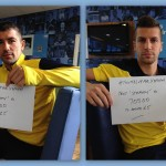 Aleks Kolarov and Matija Nastasic