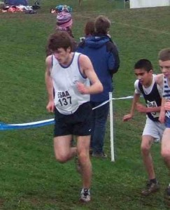 Stephen competing in an All England Interschool cross country competition3