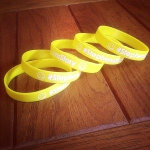 Stephens Story wristbands