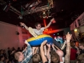 """44) """"Crowd surf in a rubber dinghy at a gig"""""""