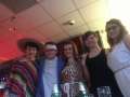 …Here's him at a charity fancy dress party with friends...
