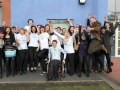 Not only did Stephen skydive himself, he also got a group of 55 people to do it with him- here are some of group who did it