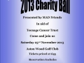 … And supported this charity ball that was organised by MAD friends fundraising group